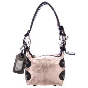 Chloe Calfskin Metallic Pink Handbag